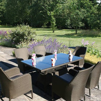 Garden Banquet Use Outdoor Dining Table