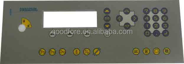 membrane switch panel B56062 for PICAN0L weaving loom