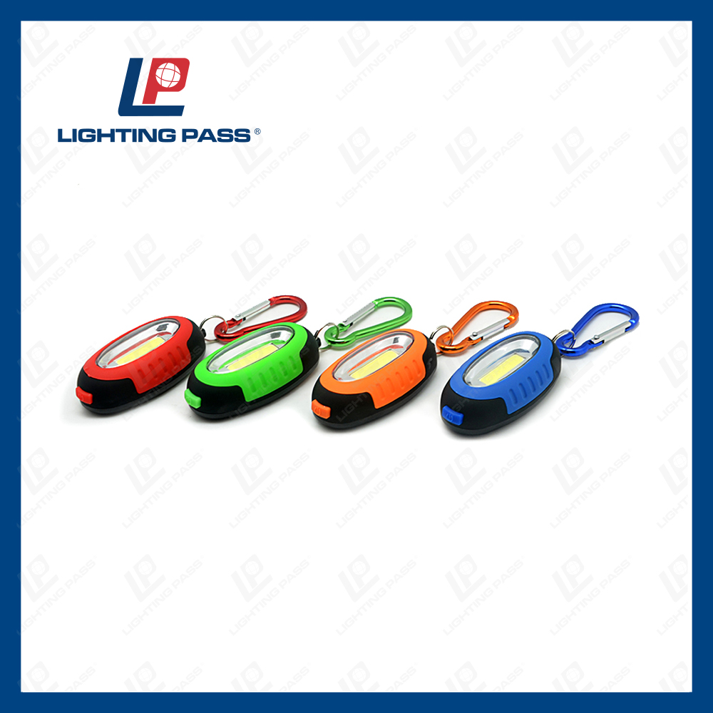 Cheap promotional items soft led keychain led key ring light