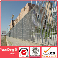 Hot dip galvanized steel grating fence,galvanized steel grating wall