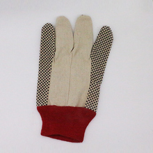 Quality-Assured Comfortable PVC Dots Cotton Knitted Safety Gloves