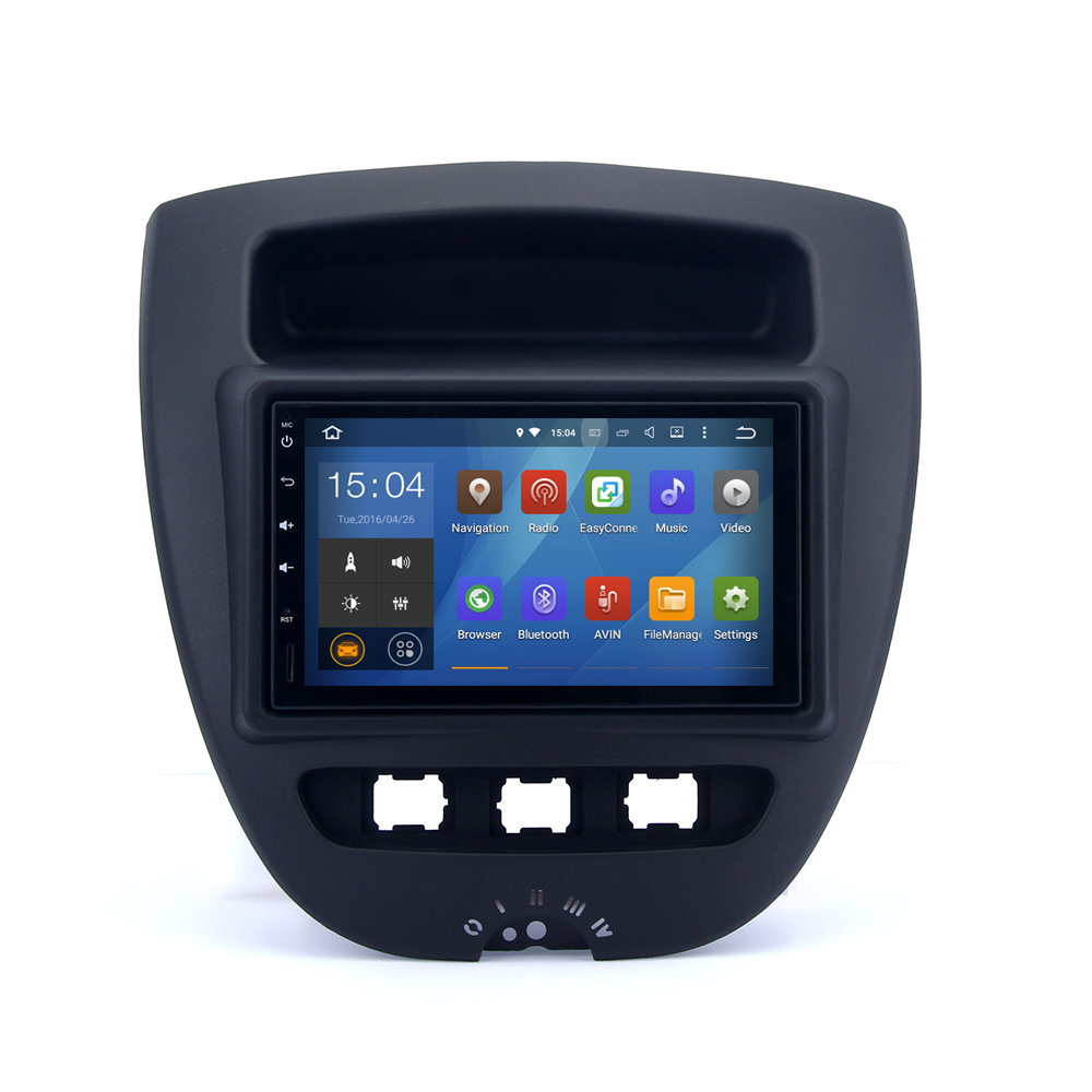 Wholesale Fashional Android 4.4.4 Quad core universal car dvd player with gps mirror for Toyota Avensis 2003 2007