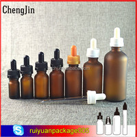 free sample glass dropper pink dropper pharmaceutical bottle for eye drop from Chengjin