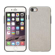 Low MOQ Ultra thin PU Leather Phone Case For iPhone 7