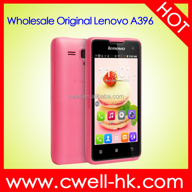 Original Lenovo A396 Brand Quality 4.0 Inch TFT Touch Screen WiFi 3G Cheap Android Lenovo mobile phone