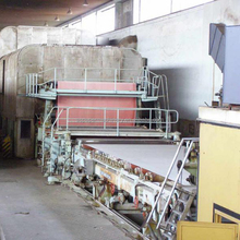 high speed single fourdrinier adhesive paper coating machine for art paper coating machinery