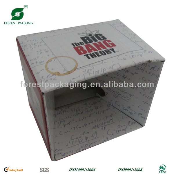 MUG CRAFT PAPER BOX GIFT BOX