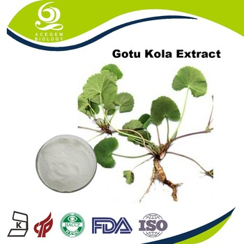 Manufacturer Supply Centella Asiatica P.E. Gotu Kola Extract For Cosmetic Raw Material