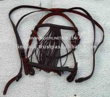 Equestrian Leather Spanish Bridle