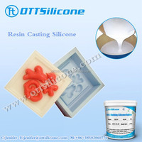 Polyester resin casting silicone for making animals statues