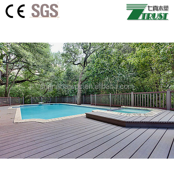 Outdoor decoration materials, bio wood flooring