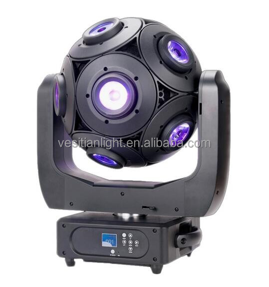 Profile DMX RGBW 4in1 led rotating led beam stage lightings / 12x12w led footbal moving head for dj wedding events