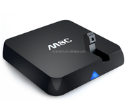 Support XBMC,skype,email,MSN,Office the most popular andriod tv box m8c tv box with 5mp camera, Amlogic S812 M8C