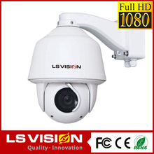 LS VISION megapixel crystal image ip ptz mini speed dome camer 10x zoom camera ptz camera night vision automatic cruise camera