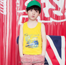 Fashion print baby clothes wholesale childen's boutique clothing vest made in china