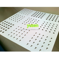 hot sale MDF carved/ MDF grille board