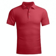 100% cotton cheap wholesale custom design plain men polo t shirt