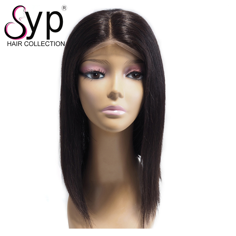 Wholesale Inexpensive Natural Black 9A Mink Brazilian Women's Human Hair Lace Front Wigs