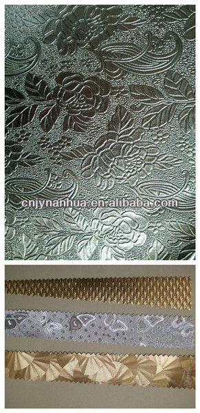 shinning synthetic pvc bag fancy leather golden items