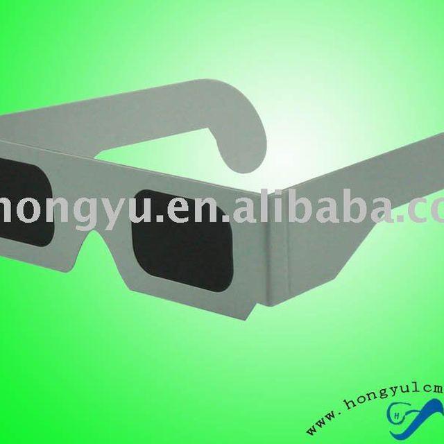 paper frame eclipse 3D glasses