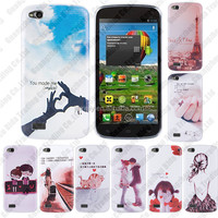 Various Fashion Printed PC Back Case Cover for Fly IQ4410
