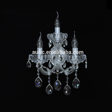 Zhongshan Auric Crystal Chandelier Lights Wall Light 3 Lamp