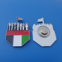 2016 UAE Flag Sheikhs Magnetic Brooch Pin Manufacturers in China