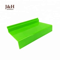 J&H Storefixture Factory Custom Shoes Store Display Accessories Acrylic Shoes Shelves Available Slat Wall Shoe Display Shelf