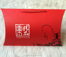 2017 popular paper pillow gift box packaging