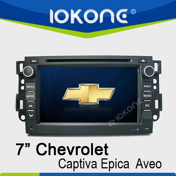 7'' touch screen chevroet aveo auto navigation with gps bluetooth phonebook ipod RDS
