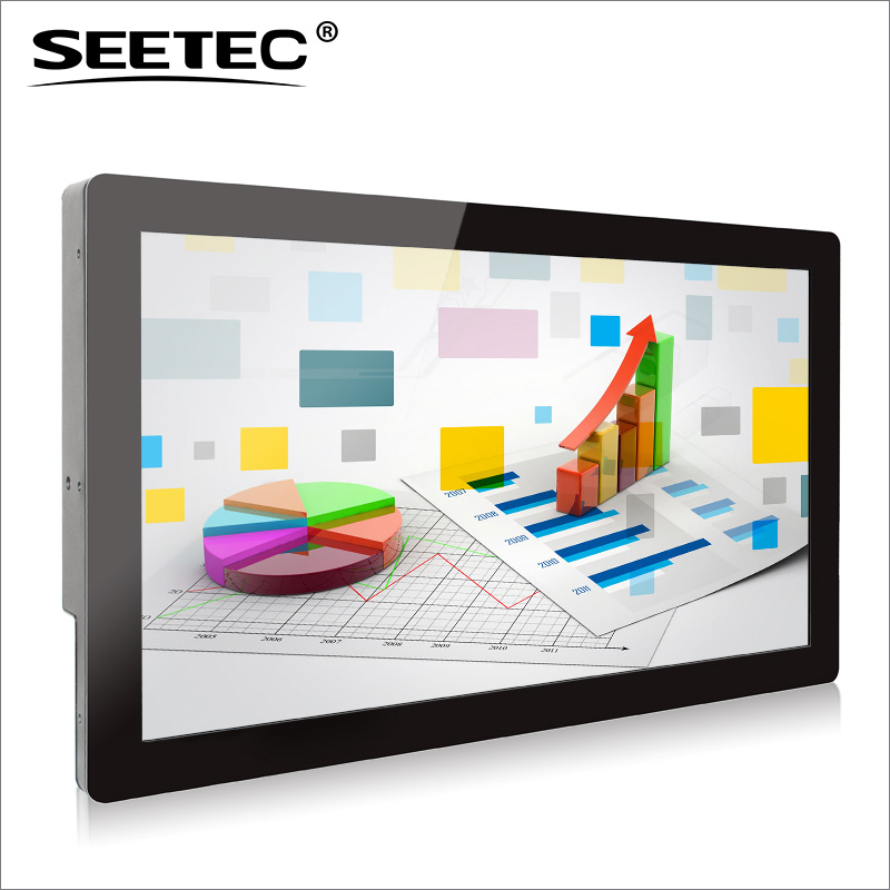SEETEC 21.5 inch USB touchscreen full HD 1920*1080 IPS panel HDMI VGA monitor advertisement on computers
