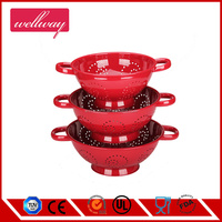 New design Stainless steel colander/mesh baket/rice colander China factory export
