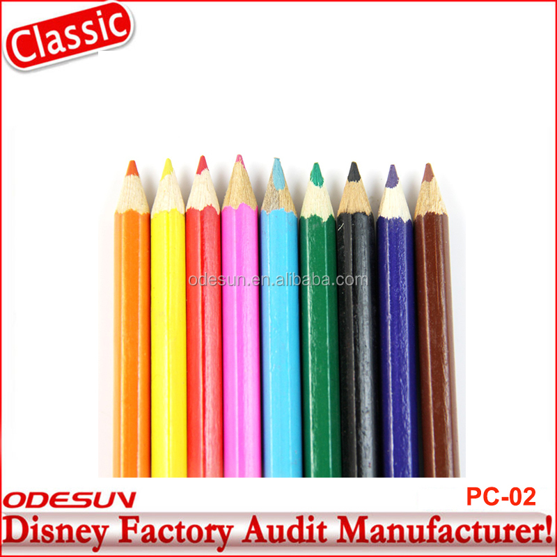 Disney Universal FAMA BSCI Carrefour Factory Audit Water Glitter Color Pencil