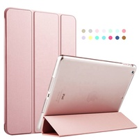 New Arrival Auto Sleep Flip Leather Case For Ipad Air ,For Ipad Air 2 Smart Cover