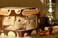 Premium Dates enronbed in Milk/Dark/White Chocolate