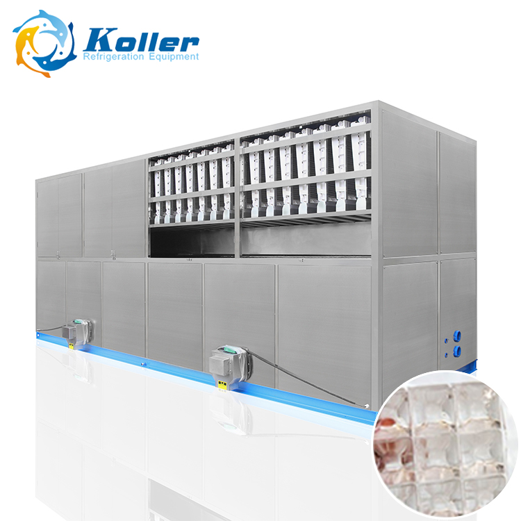 CV8000 stainless steel ice cube industrial machine ice maker machine