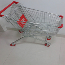 Popular 80 Liters Supermarket Shopping Cart