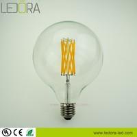 Big Globe G125 Edison Style Led filament Light Bulb 4W 6W 8W 2200K 2700K 3000K