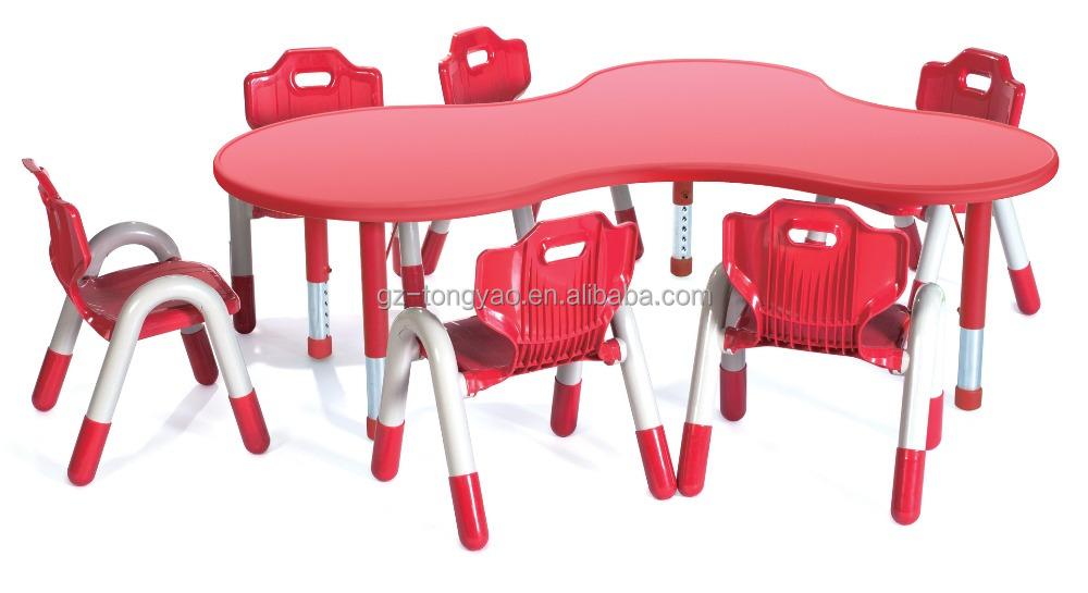 mesa para jardim de infancia: de mesa e cadeira, móveis de jardim de infância, crianças mesa e