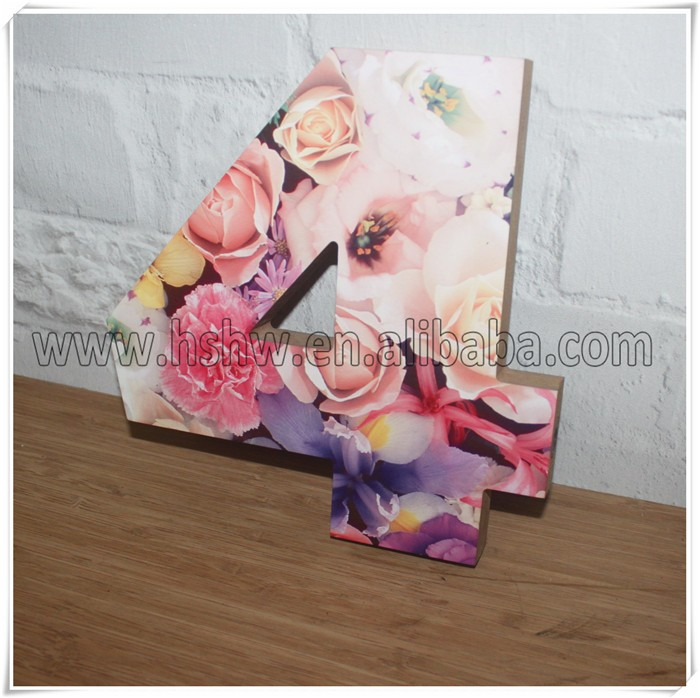 custom sublimation MDF wood signs 20X21cm thickness 21mm
