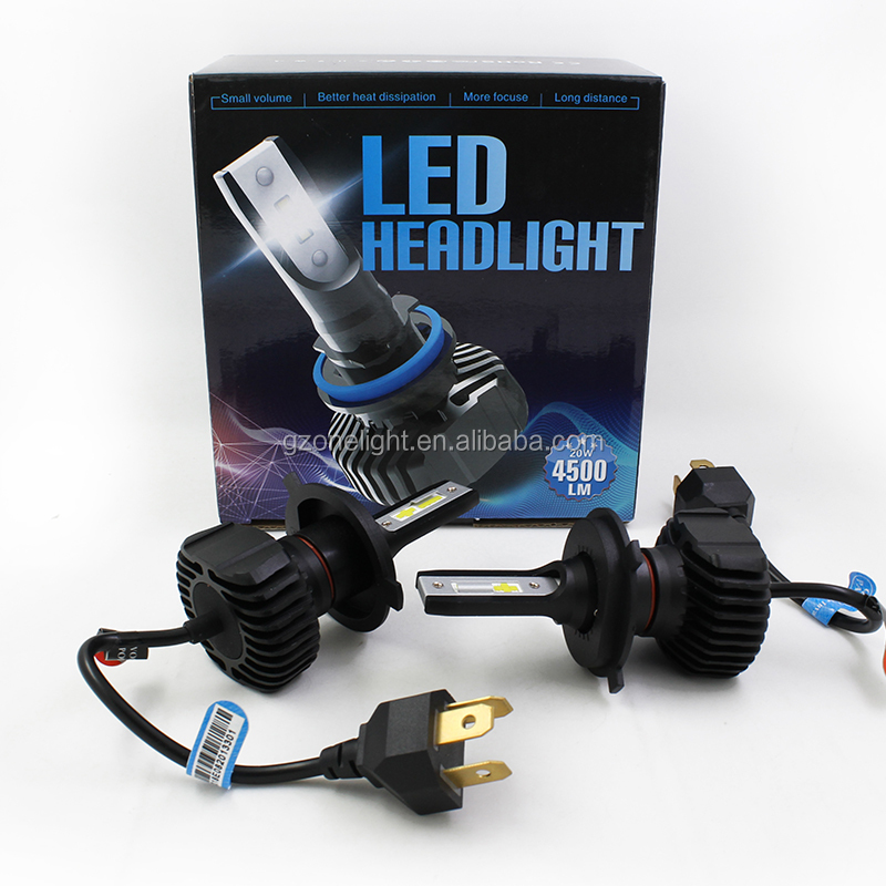 Original Factory price S1 plus auto led bulbs h4 led car light h13 auto led lights