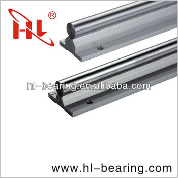 Linear motion support rail