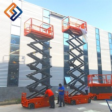 China cheap scissor lift home elevator motorcycle central