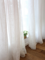 sheer curtain voile curtain fancy window curtain living room drapes