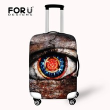 New Designs Eye Pattern Luggage Suitcase Covers for Youth