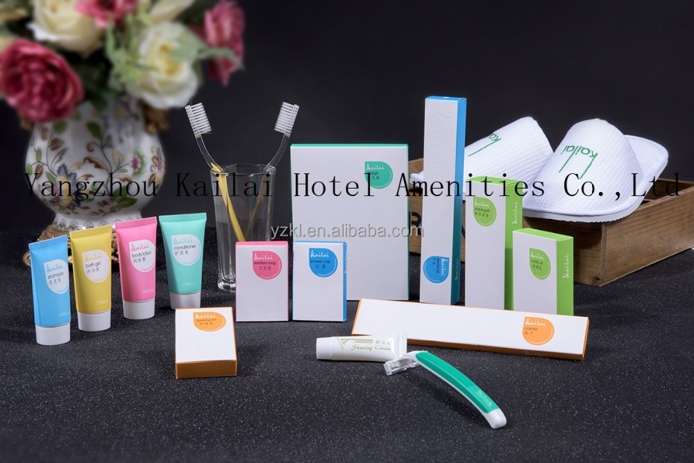 disposable hotel amenities/hotel amenities sample/hotel room amenities list