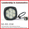 NSSC super bright lifetime warranty IP68 35W crees offroad car led driving light with ce, e-mark,rohs