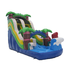2018 New design inflatable depot cheap inflatable water slides prices