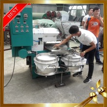 Peanut/Flax/Sesame/Soybeans Screw Oil Making Machine