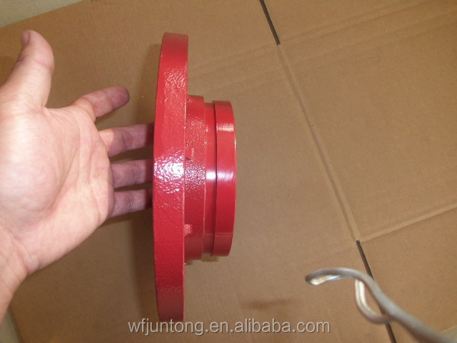 FM/UL APPROVED Ductile cast Iron grooved Pipe fittings and Couplings/reducer/flange/pipe tee